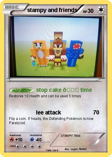 Pokemon Stampy And Friends