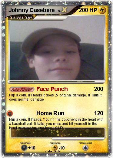 Pokmon johnny casebere face punch my pokemon card pokemon johnny casebere solutioingenieria Image collections