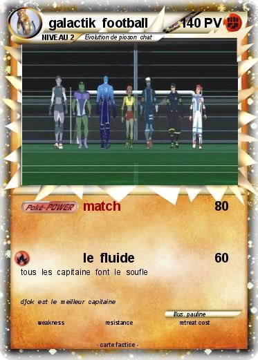 Pok mon galactik football 2 2 match ma carte pok mon - Coloriage galactik football ...