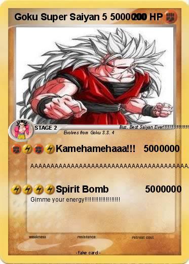pokémon goku super saiyan 5 5000000 5000000 kamehamehaaa