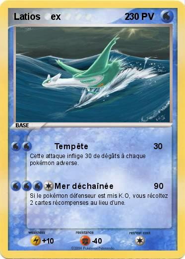 Pokemon Latios ex 2 1