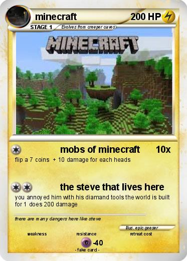 Pok 233 Mon Minecraft 956 956 Mobs Of Minecraft My Pokemon