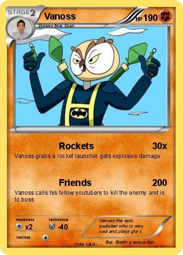 pokémon vanoss 48 48 rockets my pokemon card