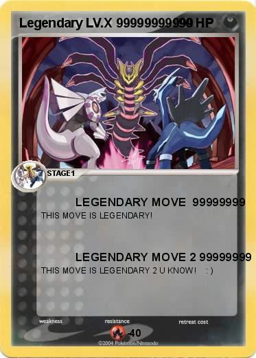 Pok mon legendary lv x 99999999999 99999999999 legendary - Pokemon x pokemon rare ...