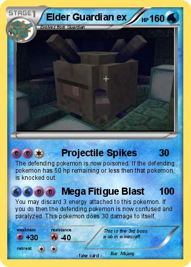 Pokemon Elder Guardian Ex