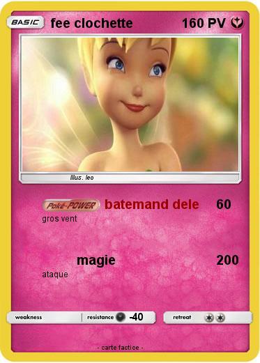 Pok mon fee clochette 23 23 batemand dele ma carte pok mon - Carte pokemon fee ...