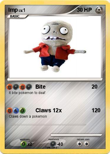 Pokmon Imp 48 48 Bite My Pokemon Card