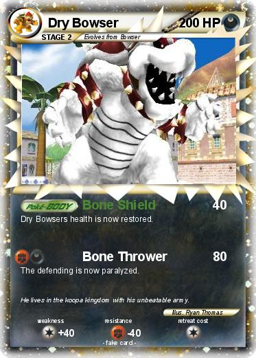 Pokemon Dry Bowser