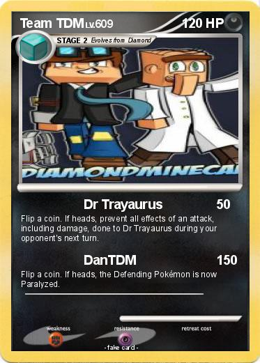 Pok 233 Mon Team Tdm Dr Trayaurus My Pokemon Card