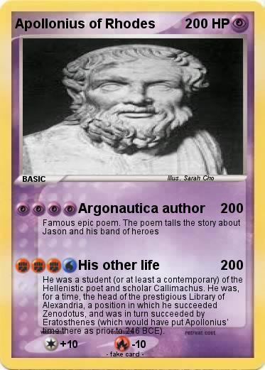 Apollonius of Rhodes argonautica florence