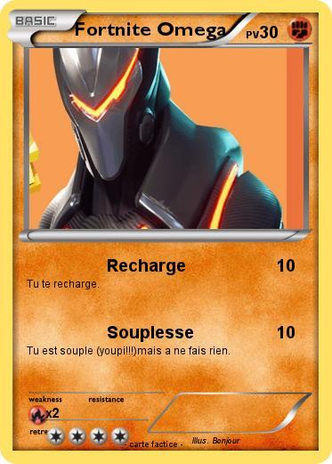Pokemon Fortnite Omega 1 1 Recharge Ma Carte Pokemon
