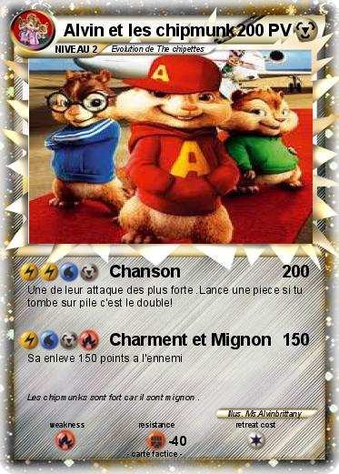 Pokémon Alvin Et Les Chipmunk