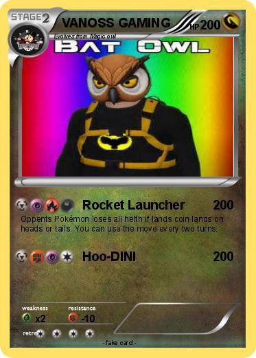 pokémon vanoss gaming 13 13 rocket launcher my pokemon card