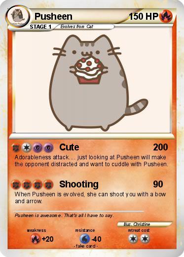 Pokemon Pusheen 33 33