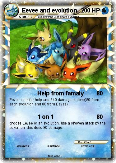 Pok 233 Mon Eevee And Evolution Help From Famaly My