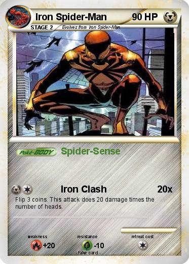 Pokemon Iron Spider-Man