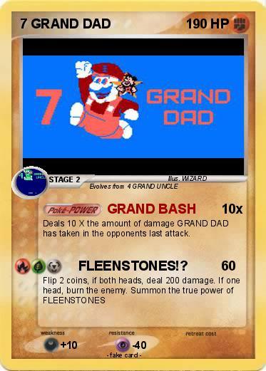 a62569d8 Pokémon 7 GRAND DAD 3 3 - GRAND BASH - My Pokemon Card