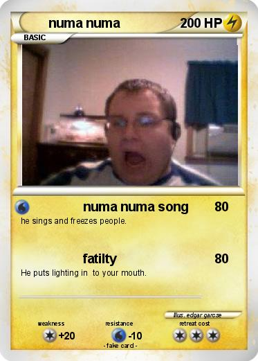 fat guy singing numa numa song № 80616