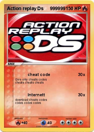 download cheat codes action replay dsi