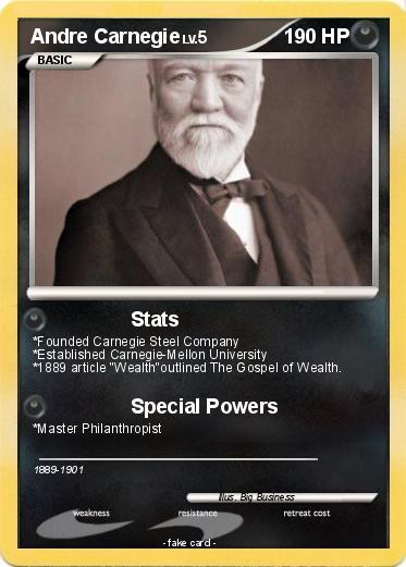 Pokémon Andre Carnegie - Stats - My Pokemon Card