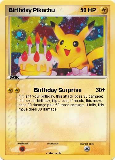 Pokmon birthday pikachu 37 37 birthday surprise my pokemon card pokemon birthday pikachu language card english bookmarktalkfo Gallery
