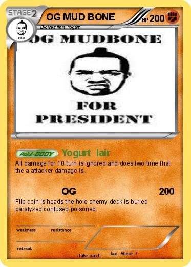 Pokemon Og Mud Bone