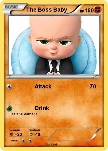 Pok mon The Boss Baby Attack