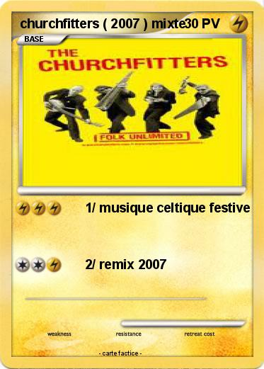Pokemon Churchfitters 2007 Mixte