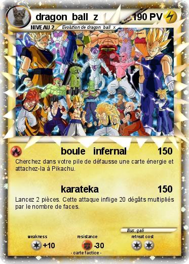 Pok mon dragon ball z 67 67 boule infernal ma carte pok mon - Carte pokemon dragon ...