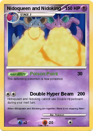 pokemon nidoqueen card - 373×521