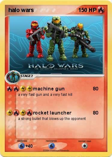 pokemon halo wars