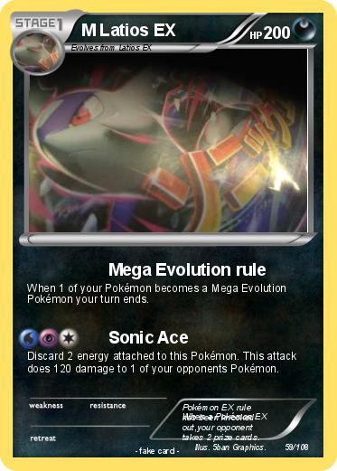 Pokemon latios ex