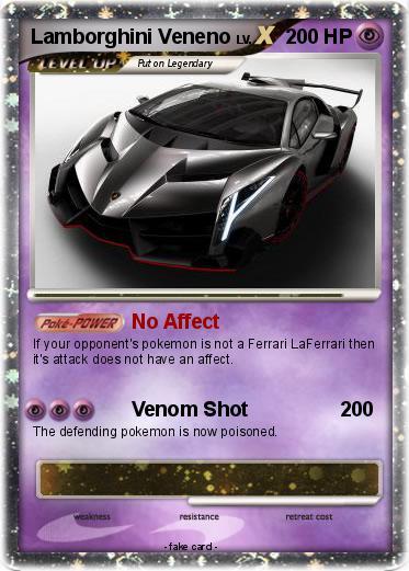 Pokemon Lamborghini Veneno 1
