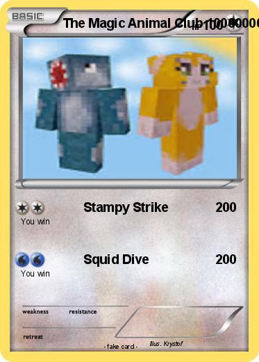 Pokémon The Magic Animal Club 10000000 10000000 - Stampy Strike - My ...