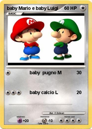 Pokemon Baby Mario E Luigi