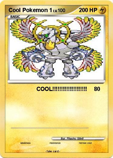 Pok 233 Mon Cool Pokemon 1 1 Cool My