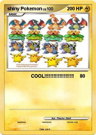 how to tell if shiny pokemon