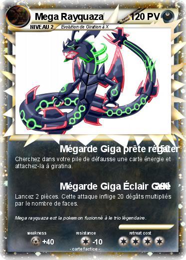Pokemon Mega Rayquaza 43 43 Megarde Giga Prete Regater Ma Carte