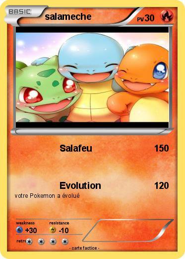 Pok mon salameche 390 390 salafeu ma carte pok mon - Pokemon evolution salameche ...