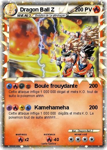 Pok mon dragon ball z 94 94 boule frouydante ma carte pok mon - Carte pokemon dragon ...
