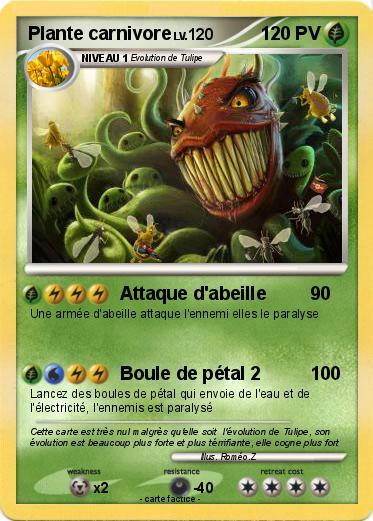 Pokemon Plante carnivore 36