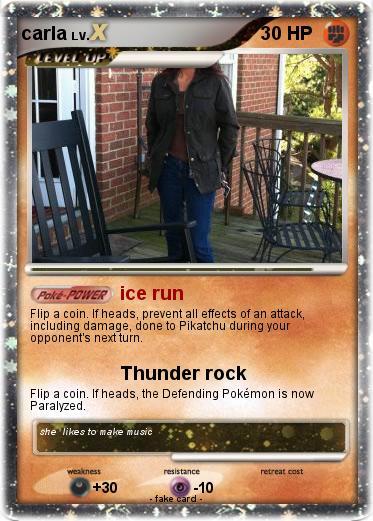 Pokémon carla 125 125 - ice run - My Pokemon Card