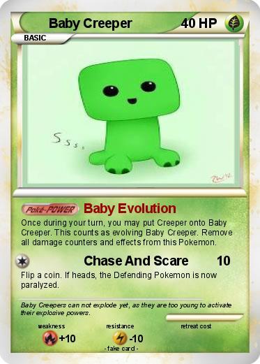 Pokemon Baby Creeper