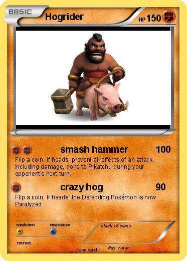 Pok mon Hogrider smash hammer