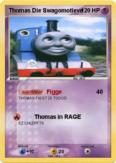Pokémon Thomas Die Swagomotieve Figge My Pokemon Card
