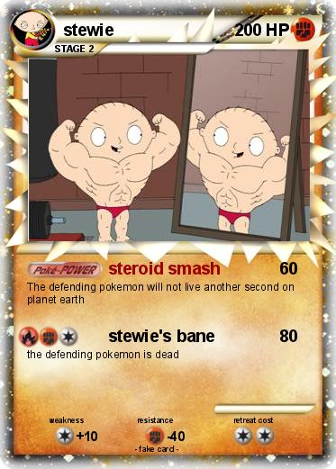stewie steroids flying