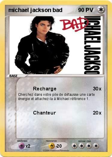 Pok mon michael jackson bad recharge ma carte pok mon - Coloriage michael jackson ...