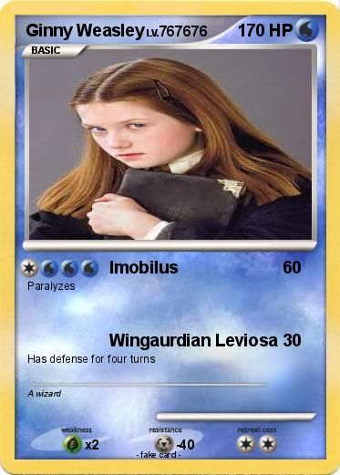 Pokémon Ginny Weasley 13 13 - Imobilus - My Pokemon Card