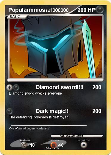 Pok 233 Mon Popularmmos 8 8 Diamond Sword My Pokemon Card