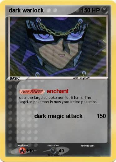 pokémon dark warlock 2 2 enchant my pokemon card
